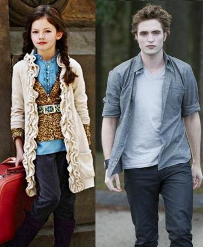 "Kristen Stewart si Robert Pattinson vor avea o fetita in ""Twilight: Breaking Down"" - FOTO&VIDEO"