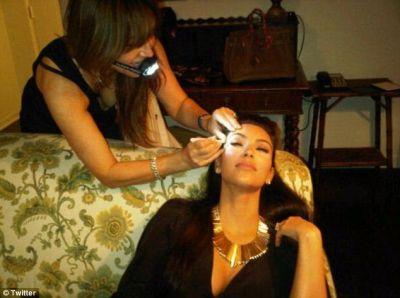 Kim Kardashian a fost pensata pentru nunta de Anastasia Soare