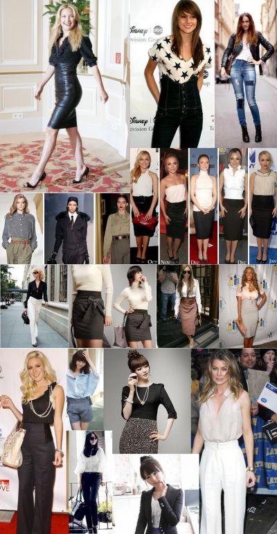 Cum porti hainele cu talie inalta pentru a arata senzational - GALERIE FOTO