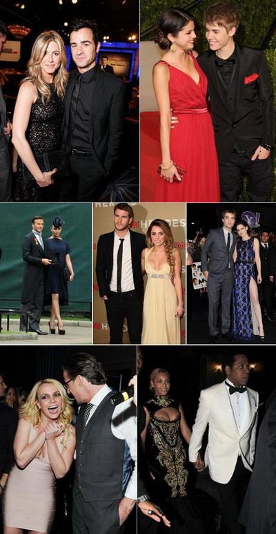 Cele mai stabile cupluri de la Hollywood in 2011