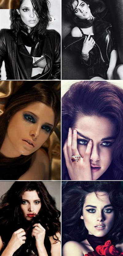 Kristen Stewart versus Ashley Greene: Care e cea mai frumoasa bruneta din Twilight? FOTO
