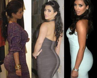 Kim Kardashian - posesoarea celui mai frumos posterior din lume - Vezi cine mai e in top - FOTO