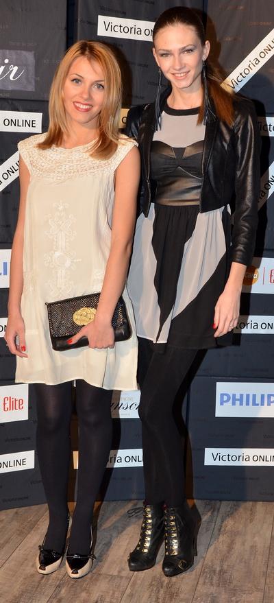 Andreea Ibacka si Madalina Draghici, in tinute foarte chic la un eveniment monden – FOTO