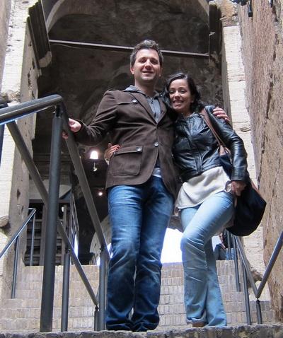 Olivia Steer si Andi Moisescu au petrecut un weekend de vis la Roma