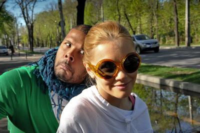Cabral si Andreea – dupa Paste, direct in parc, cu rolele si cu bicicleta
