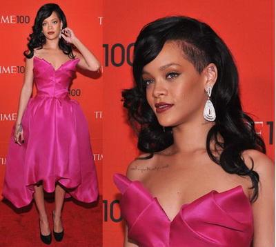 Rihanna a vrut sa arate ca o printesa, dar a dat-o in bara - FOTO