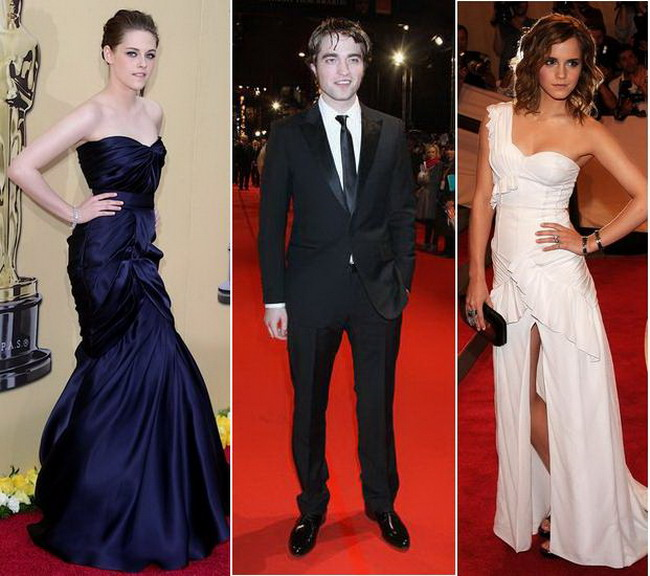 Kristen Stewart si Emma Watson, in razboi pentru Robert Pattinson