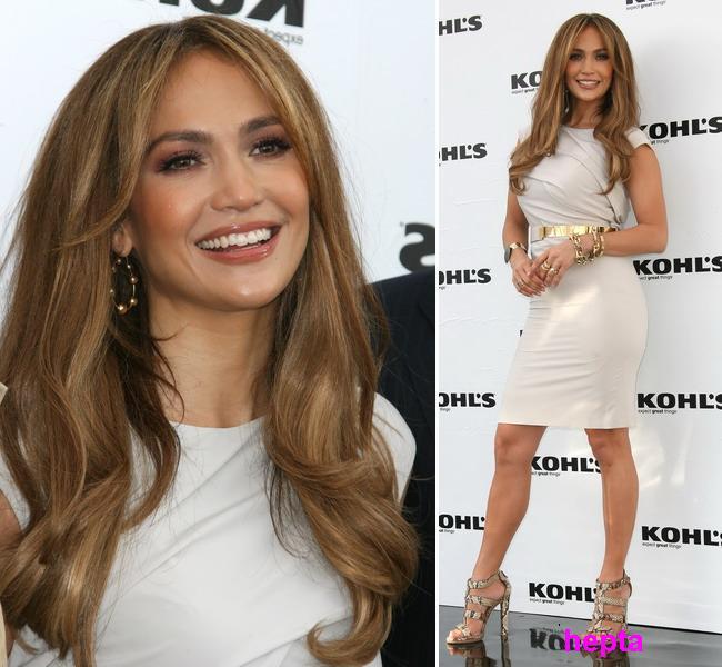 Jennifer Lopez, super silueta si ten perfect la 41 de ani! Fara interventii chirurgicale!