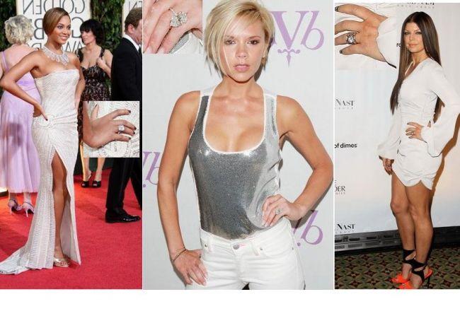 Cele mai frumoase si mai scumpe inele de logodna ale celebritatilor FOTO
