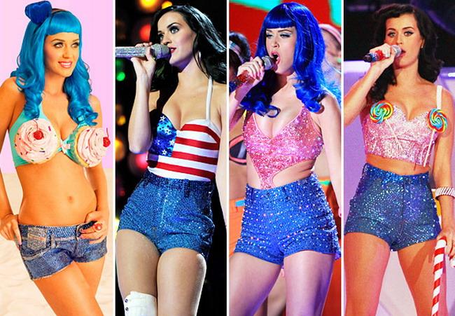 Topul aparitiilor din 2010 ale lui Katy Perry GALERIE FOTO