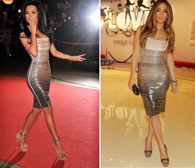 Inna, in aceeasi rochie ca Jennifer Lopez la NRJ Music Awards FOTO