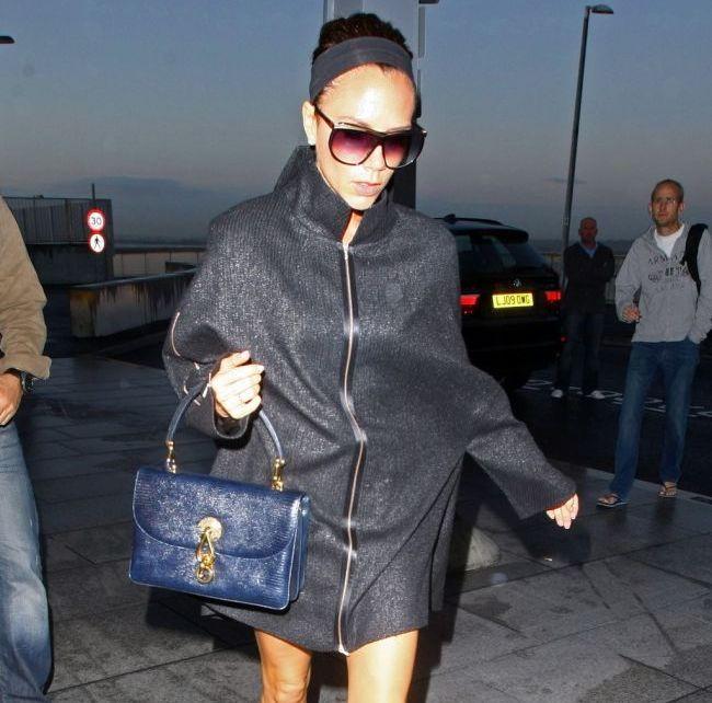 Victoria Beckham va avea o fetita