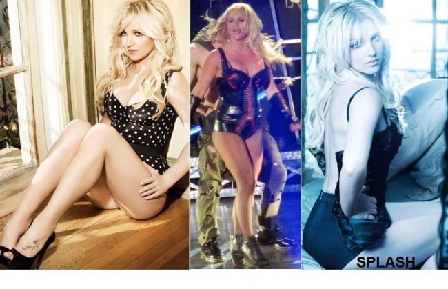 Britney Spears - diferenta intre Photoshop si realitate! FOTO