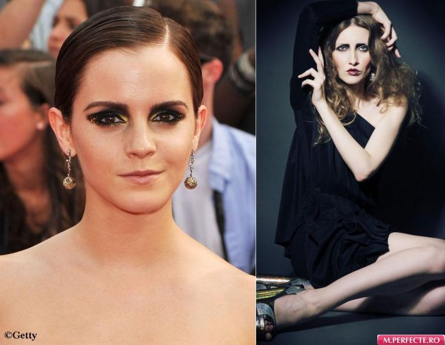 Stilul flapper cucereste Hollywood-ul! Emma Watson s-a machiat ca Iulia Albu la premiera  Harry Potter