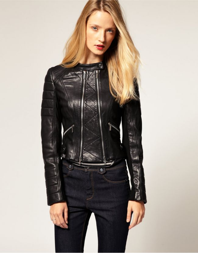 Стильные Кожаные Куртки Женские