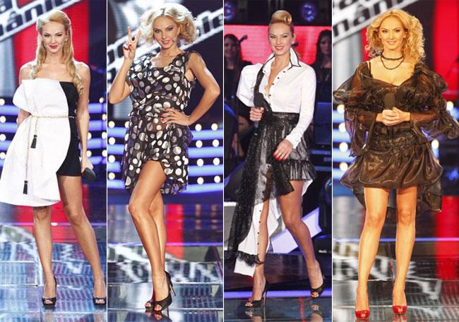 Roxana Ionescu:  Vocea Romaniei a fost pentru mine o schimbare de look si de stil . Vezi cele mai sexy rochii purtate de ea