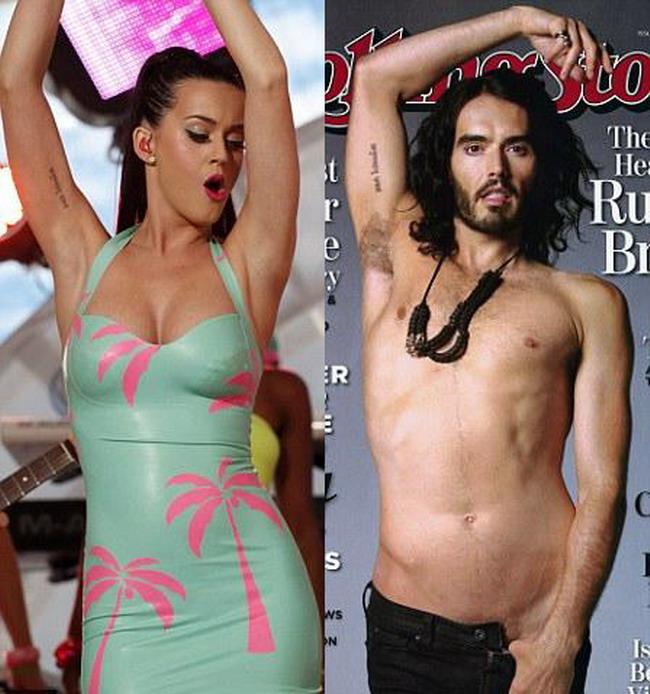 Katy Perry parasita de sotul ei. Russell Brand  a depus actele de divort