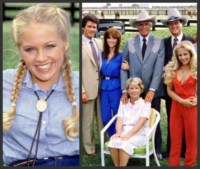 N-o sa-ti vina sa crezi cat de bine arata Lucy Ewing din Dallas dupa 31 de ani de la aceasta poza