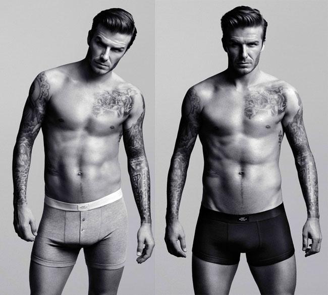 David Beckham, din nou in lenjerie intima, pentru H M. Vezi cum arata colectia lui