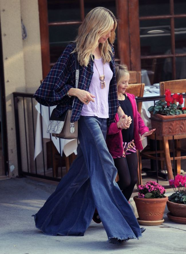 Fashion Police: Heidi Klum, intr-o pereche de pantaloni care ne lasa fara cuvinte. Iti plac?