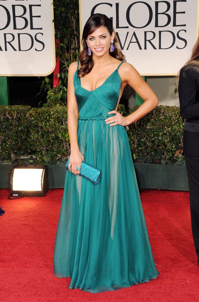 Maria Lucia Hohan, la Golden Globes. Creatia designerului roman, in topul celor mai reusite aparitii ale serii