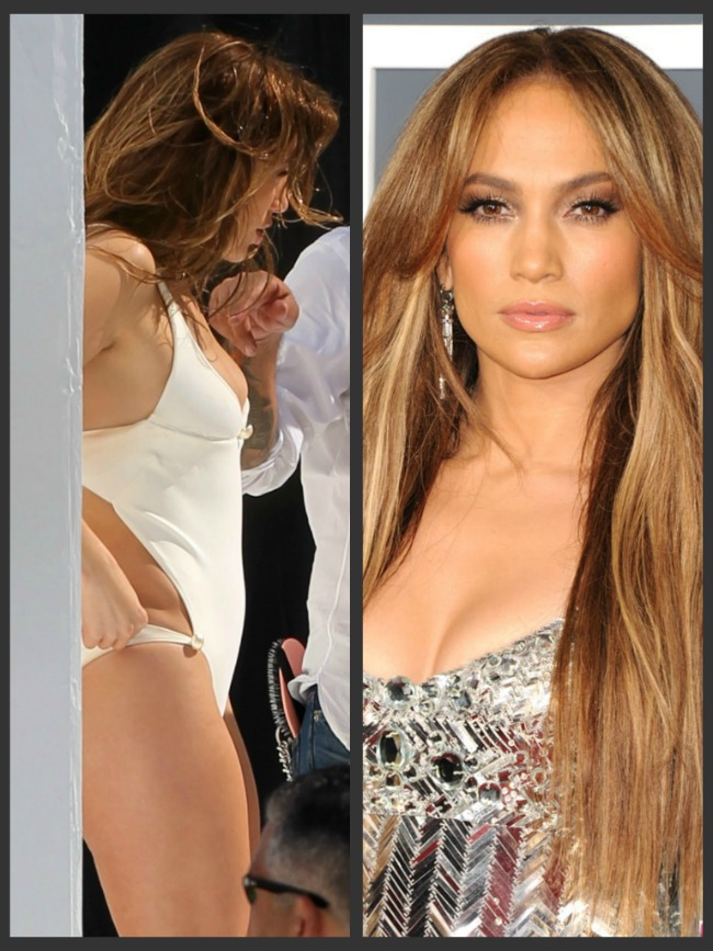 Jennifer Lopez, asa cum nu ai mai vazut-o demult: in costum de baie. Fara photoshop!  FOTO