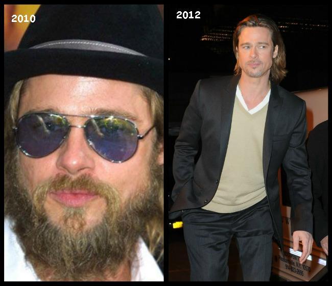 Brad Pitt a revenit la statutul de sex-simbol. Iata cele mai reusite aparitii ale cuplului Pitt-Jolie FOTO