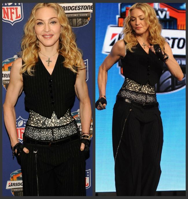 Terminator se intoarce! Talie de viespe si muschi de otel: Madonna arata ca o culturista veritabila