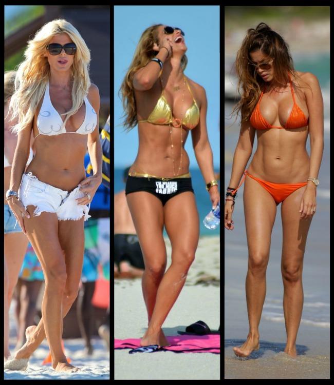 Cele mai lucrate corpuri din showbiz. Aparitiile in bikini care ne-au lasat mute de admiratie si pline de invidie :)
