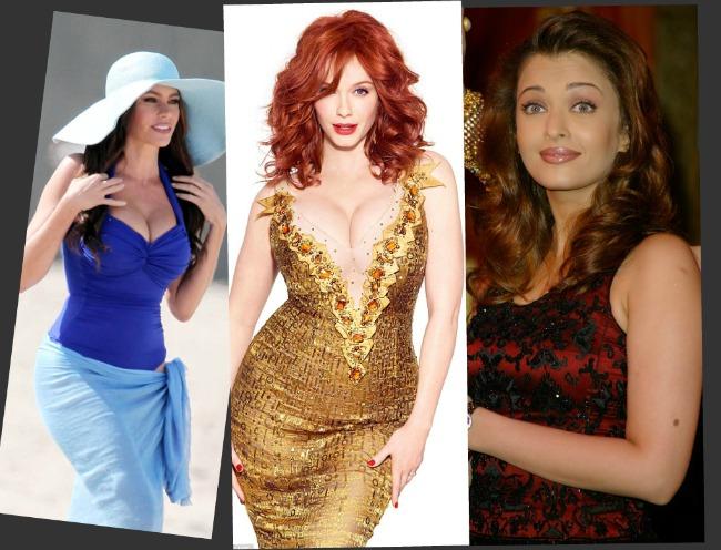Cine spune ca femeile plinute nu sunt frumoase? Trei femei cu forme generoase care au innebunit milioane de barbati