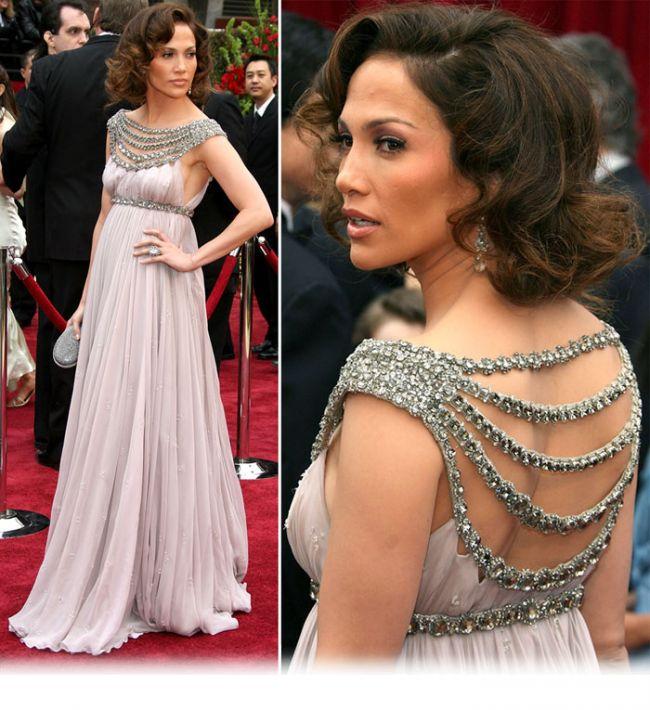Jennifer Lopez, in Marchesa. Una din cele mai scumpe si spectaculoase aparitii ale deceniului trecut