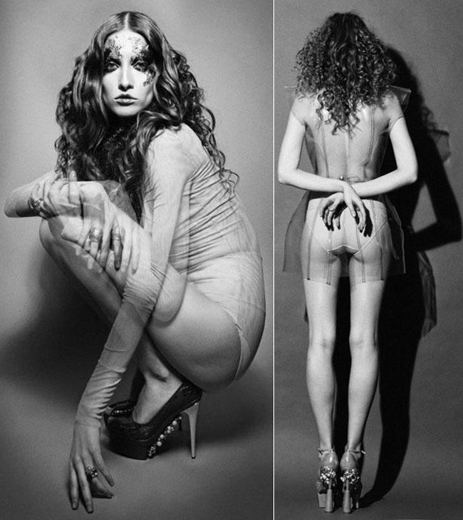 Iulia Albu, intr-un nou pictorial excentric. Vezi ce a facut-o sa renunte la haine