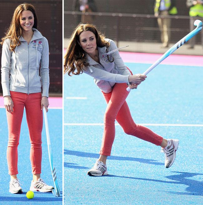 Ducesa de Cambridge, asa cum nu ai mai vazut-o: sexy intr-o tinuta sport