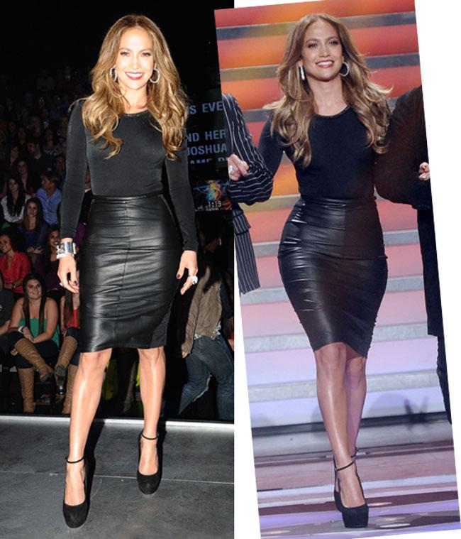 Jennifer Lopez, super sexy intr-o tinuta Maria Lucia Hohan la American Idol. Iti place?