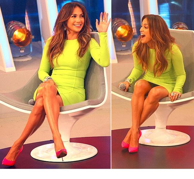 Jennifer Lopez, accident vestimentar in direct la TV. Vezi ce a patit