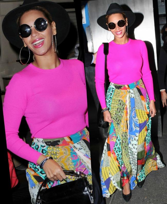 Look-ul zilei: Beyonce demonstreaza ca isi merita statutul de trend setter