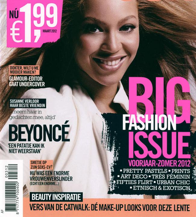 Dezastru de Photoshop cu Beyonce. Cantareata, de nerecunoscut pe coperta unei reviste