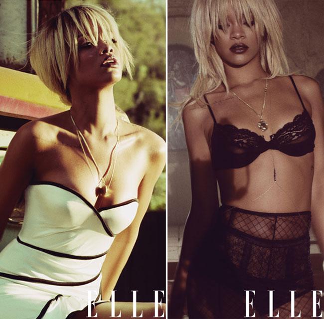 Rihanna, pictorial sexy pentru Elle US si declaratii socante. Vezi ce a marturisit vedeta