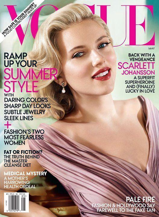 Scarlett Johansson, impecabila pe coperta VOGUE. Vezi de ce nu ar mai vrea sa aiba 20 de ani