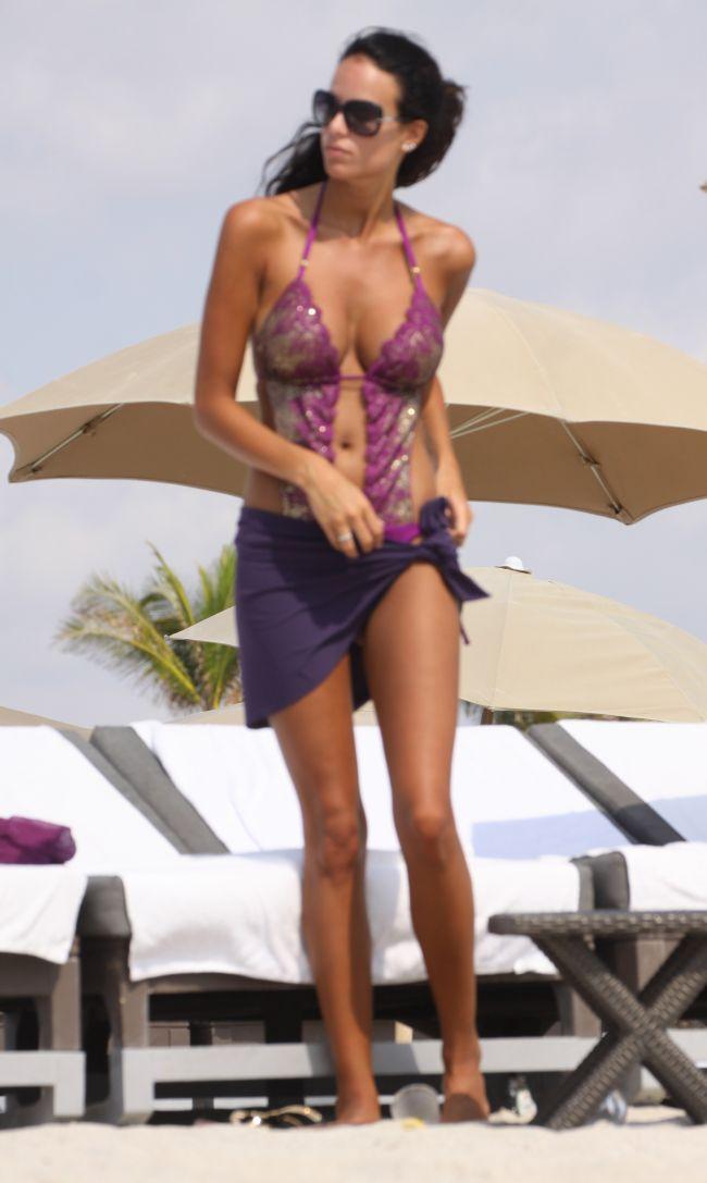 Jade Foret, noua senzatie a lumii modei, a atras toate privirile pe o plaja din Miami