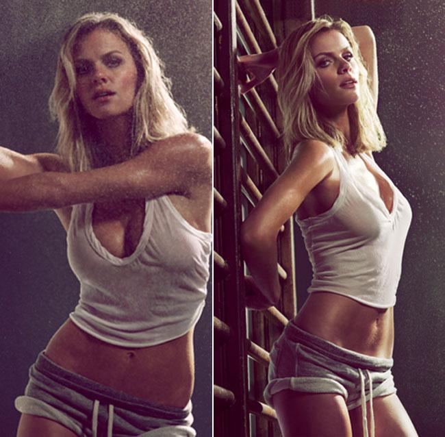 Brooklyn Decker, pictorial sexy pentru GQ. Vezi cum arata supermodelul in lenjerie intima