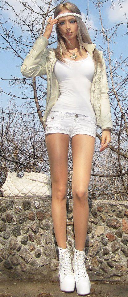 фото худых девушек связанных