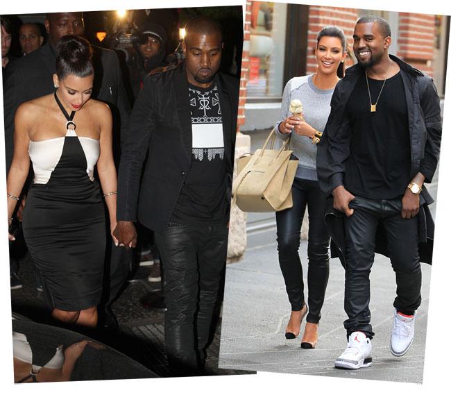 Kim Kardashian si Kanye West, noul cuplu HOT al momentului. Vezi cat de chic au fost la primele lor aparitii publice
