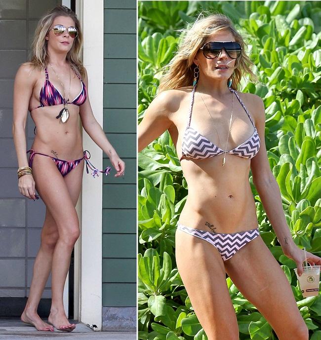 LeAnn Rimes, complimentata de sotul ei pentru corpul expus la plaja. Iti place cum arata?