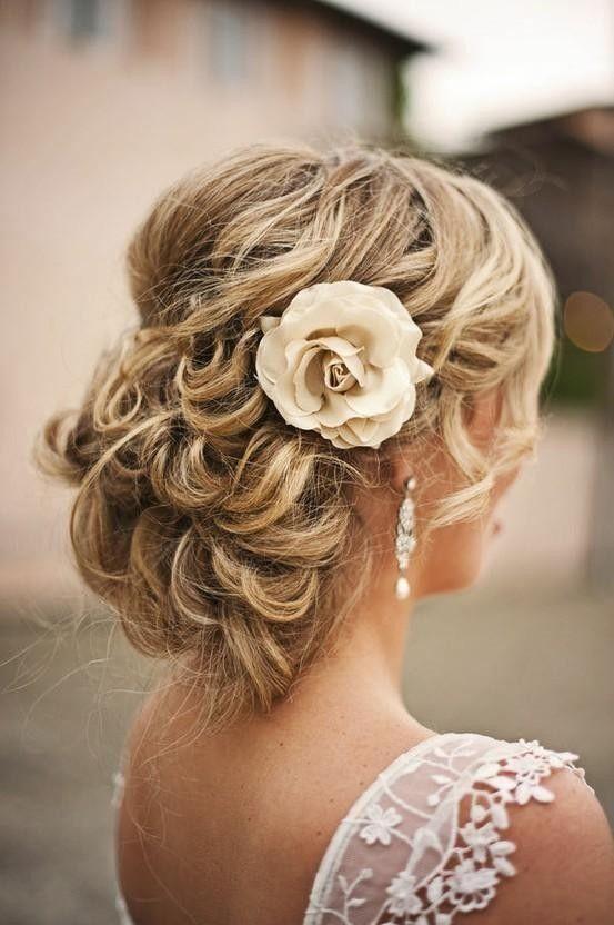 10 Coafuri Simple Pentru Nunta Care Fac Senzatie Pe Pinterest
